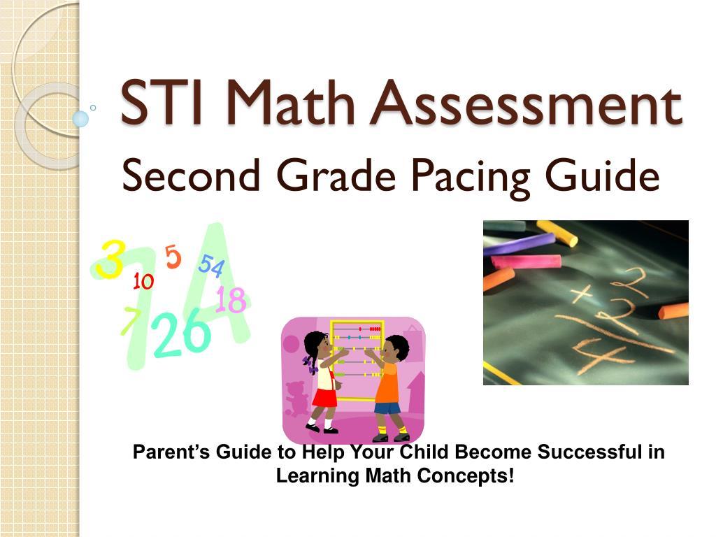 sti math assessment