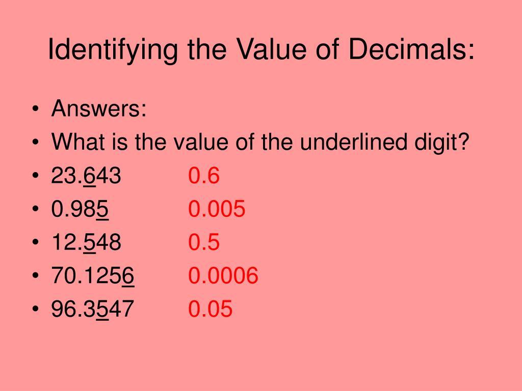 ppt decimal place value powerpoint presentation id 378408. Black Bedroom Furniture Sets. Home Design Ideas