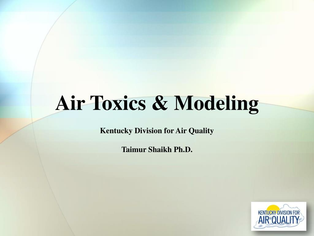 air toxics modeling
