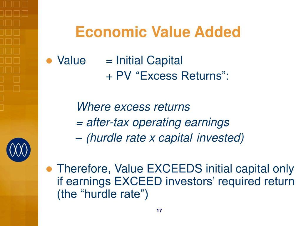 Economic Value Added