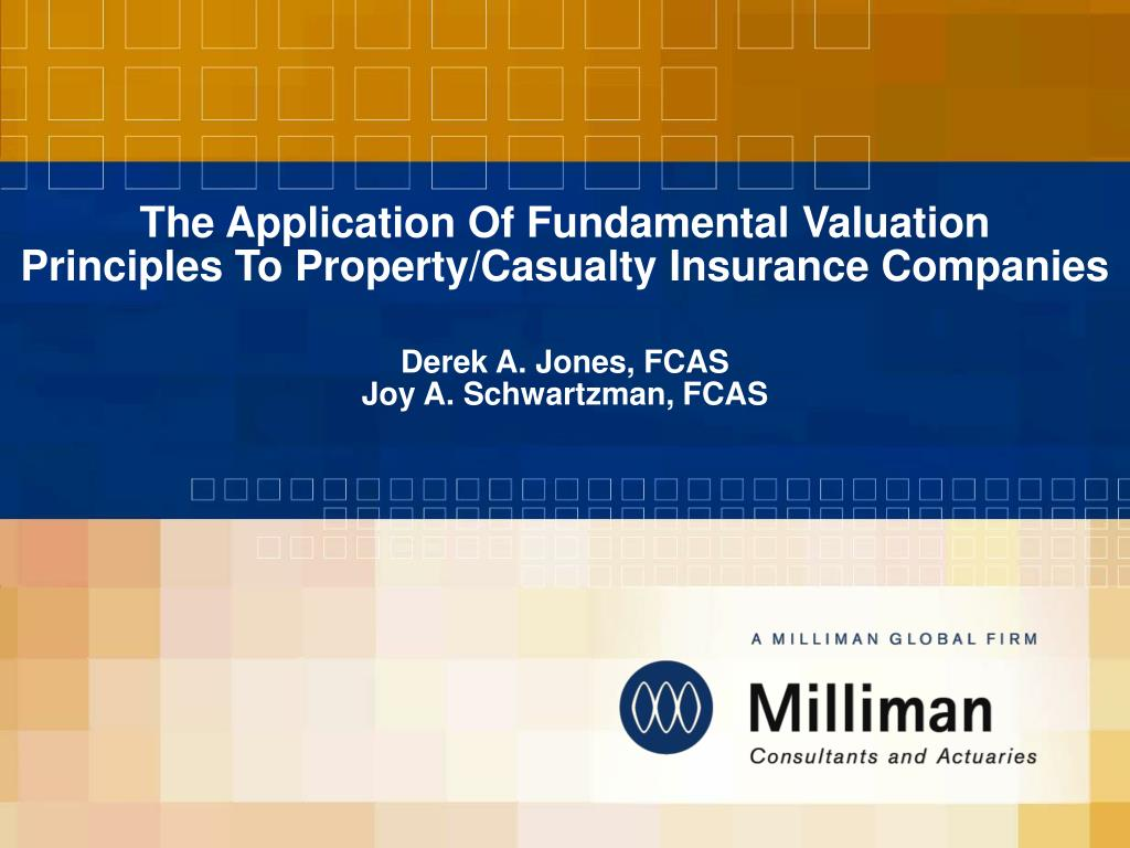 The Application Of Fundamental Valuation