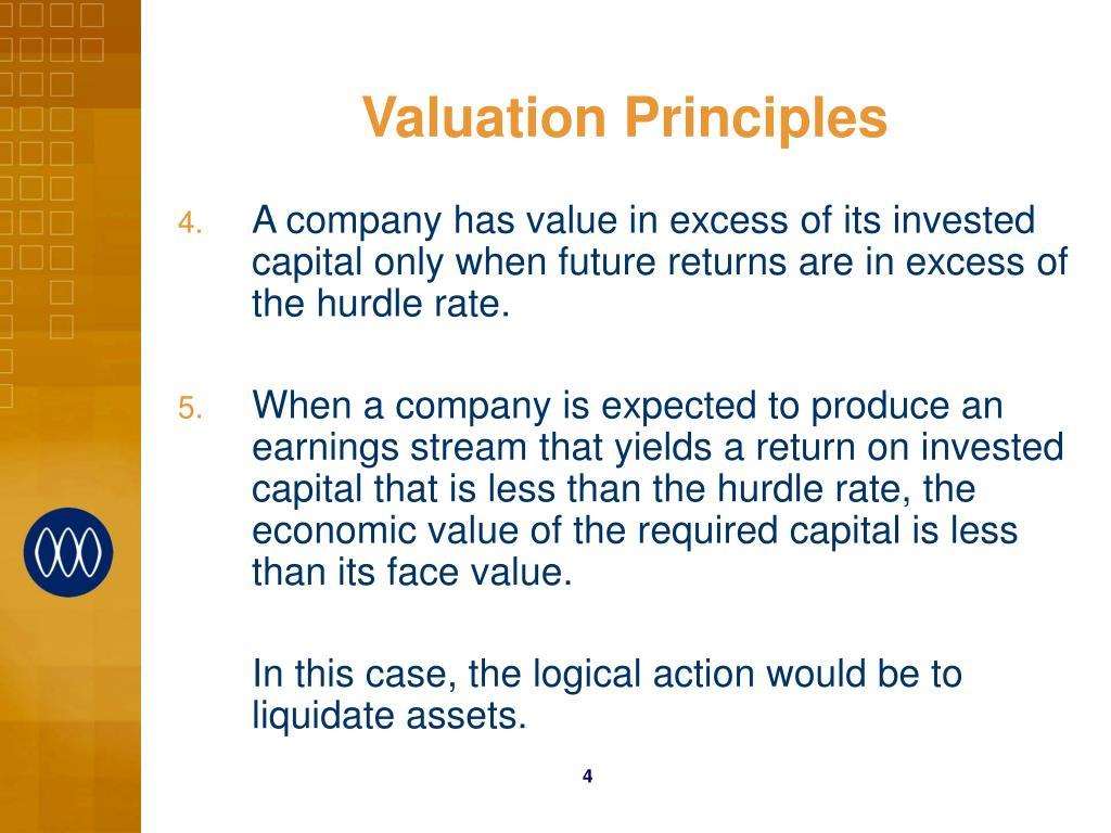 Valuation Principles