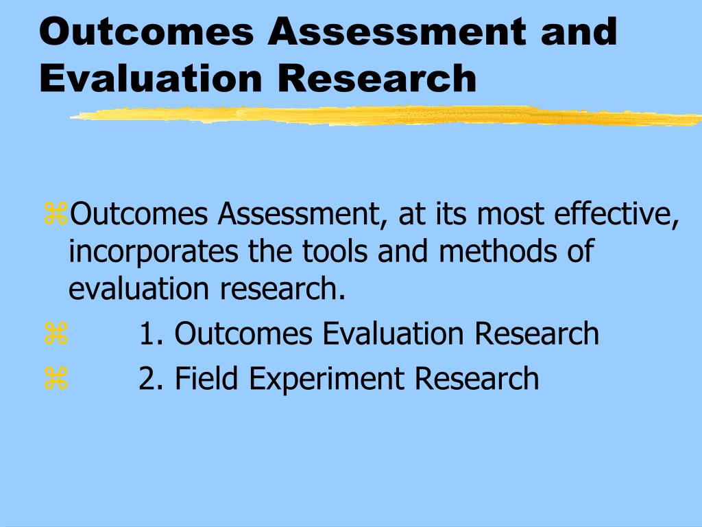 Applied Research + Evaluation