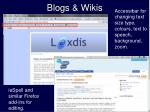 blogs wikis