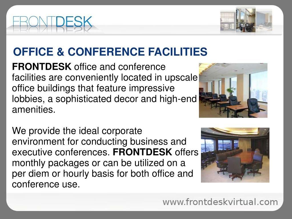OFFICE & CONFERENCE FACILITIES
