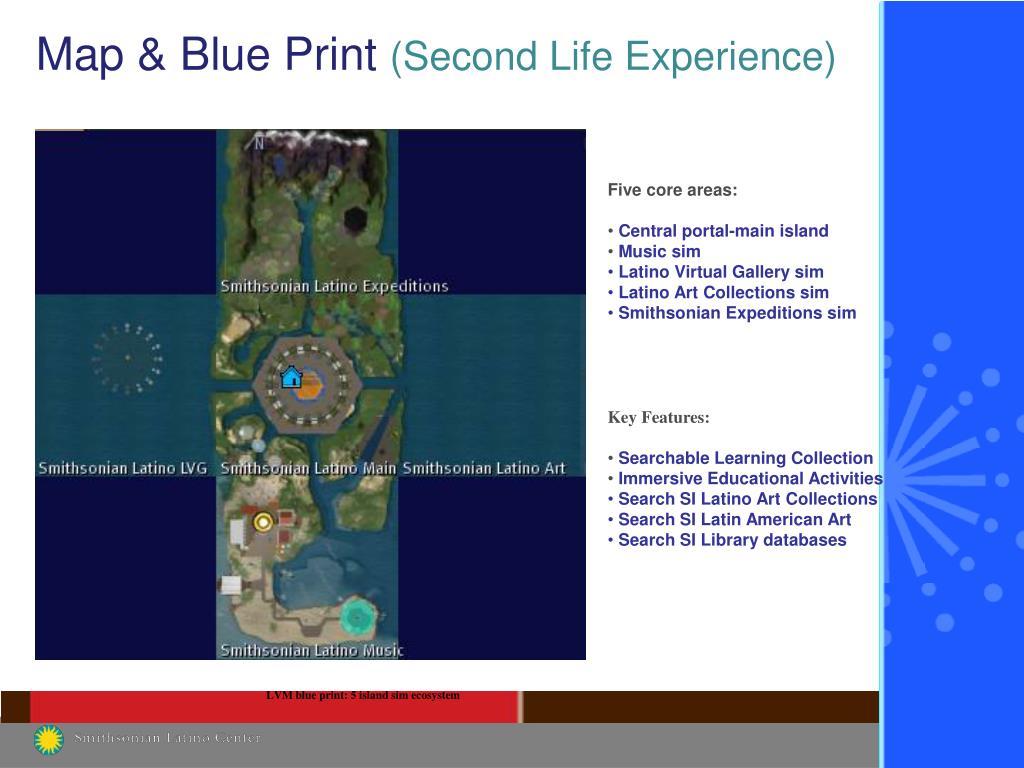 Map & Blue Print