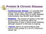 protein chronic disease