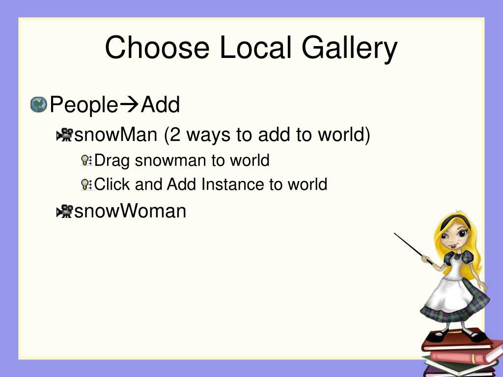 Choose Local Gallery