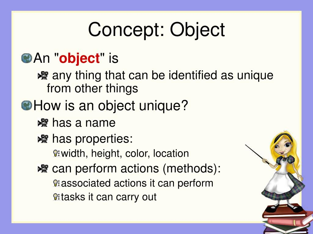 Concept: Object