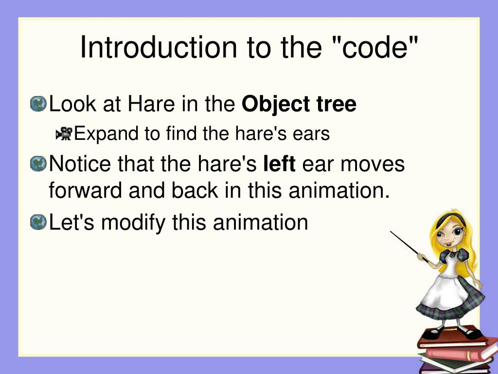 "Introduction to the ""code"""