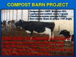 compost barn project
