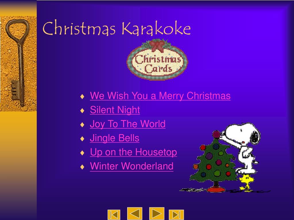 Christmas Karakoke