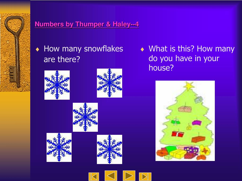 How many snowflakes are there?
