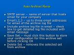 auto archive alerts