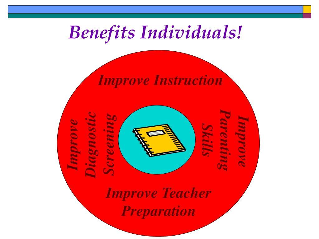 Benefits Individuals!