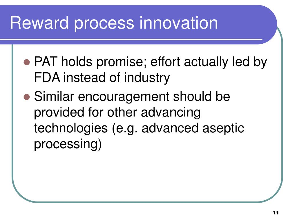 Reward process innovation