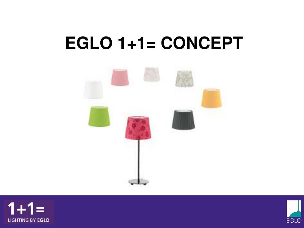 EGLO 1+1= CONCEPT