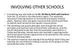 involving other schools