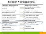 soluci n nutricional total