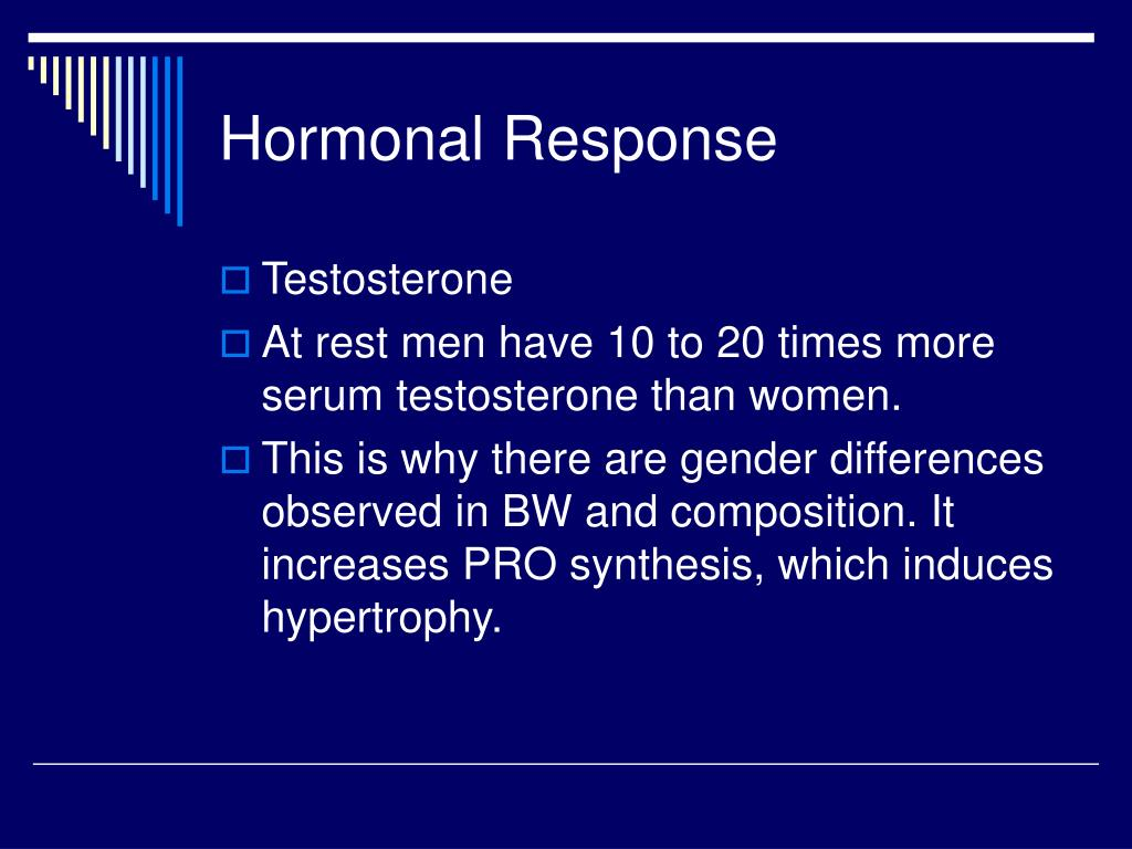 Hormonal Response