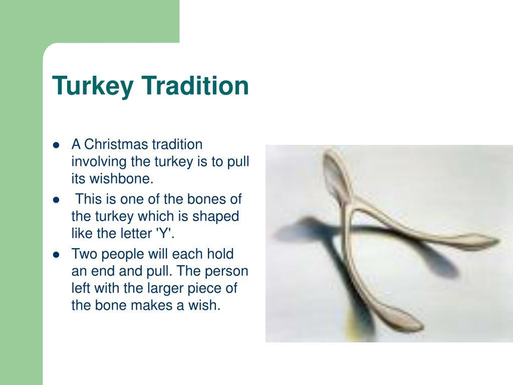 Turkey Tradition