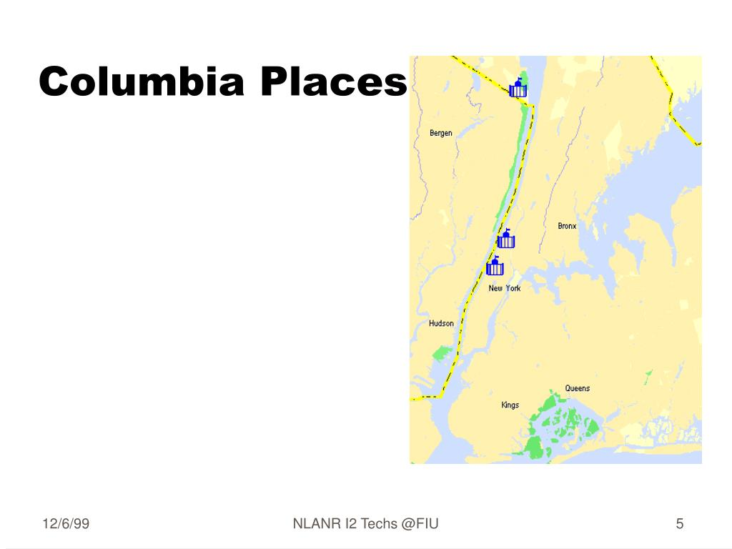 Columbia Places