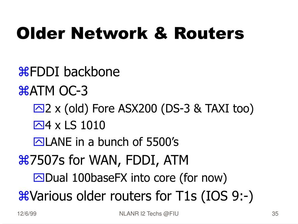 Older Network & Routers