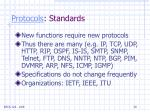 protocols standards