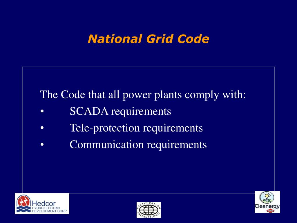 National Grid Code