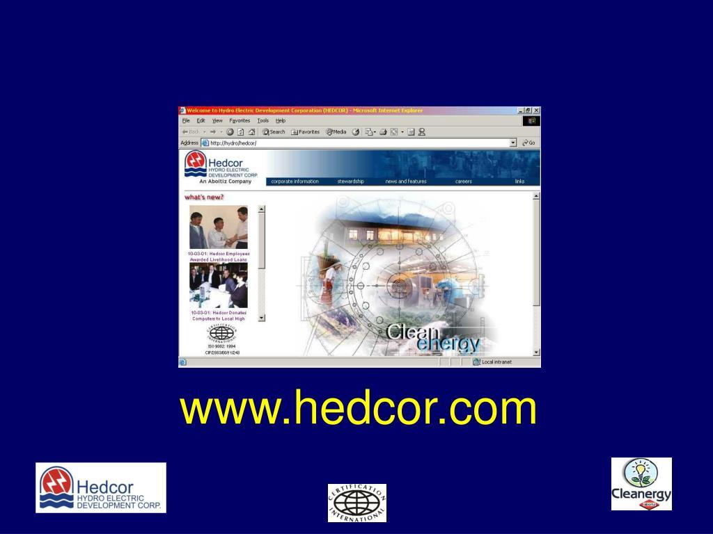 www.hedcor.com