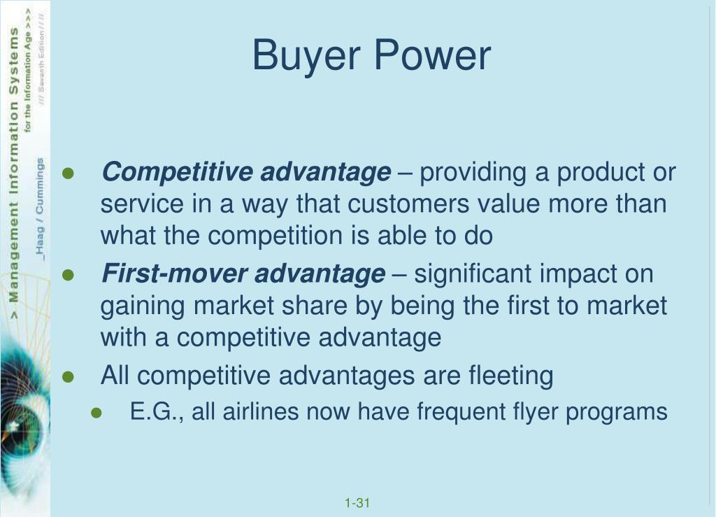 Buyer Power