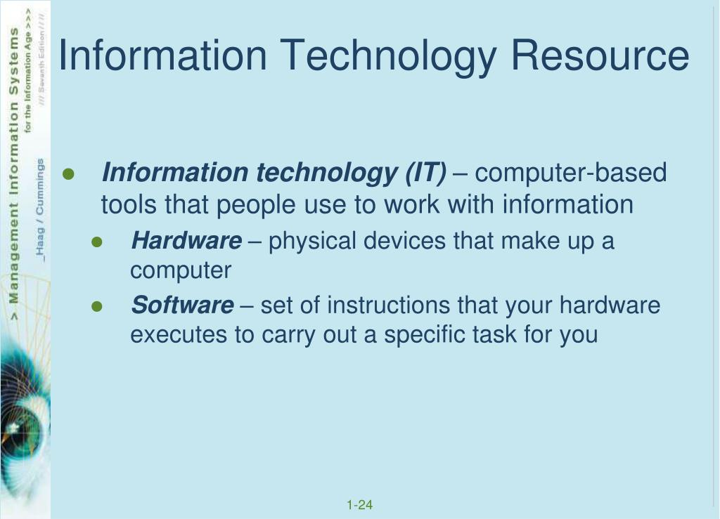 Information Technology Resource