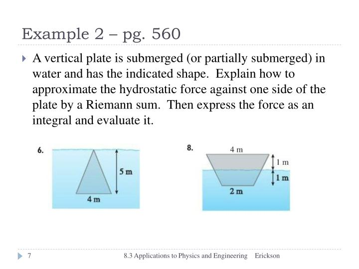 Example 2 – pg. 560