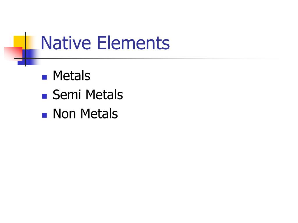 Native Elements