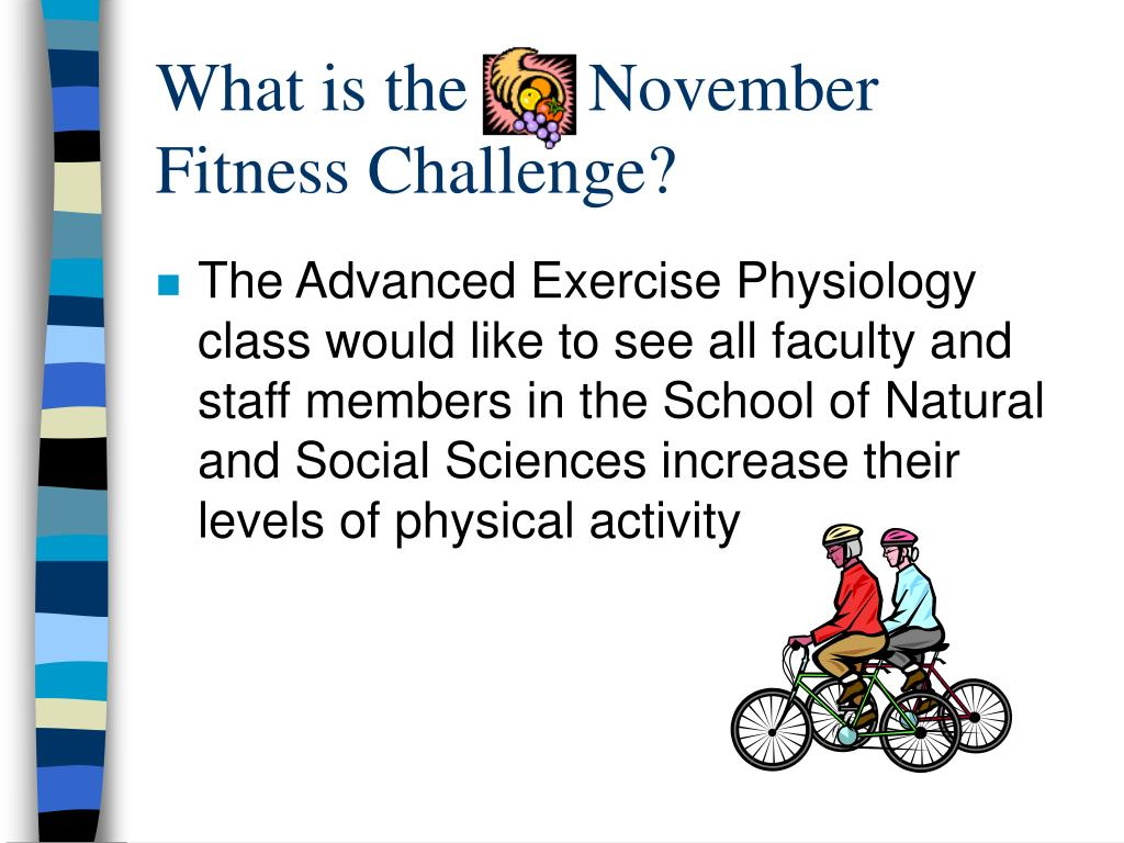 What is the       November Fitness Challenge?