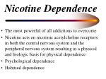 nicotine dependence