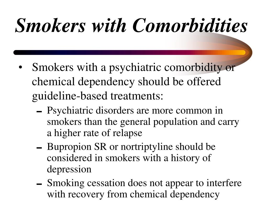 Smokers with Comorbidities