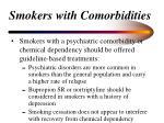 smokers with comorbidities