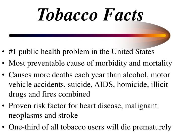 Tobacco facts l.jpg