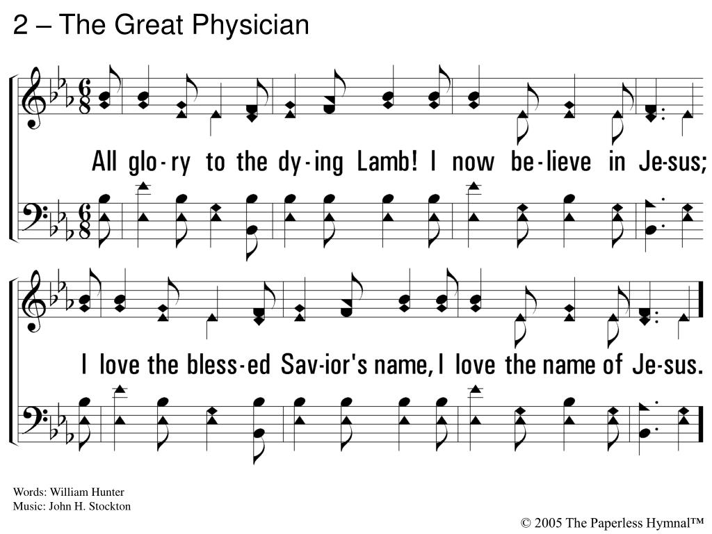 2 – The Great Physician
