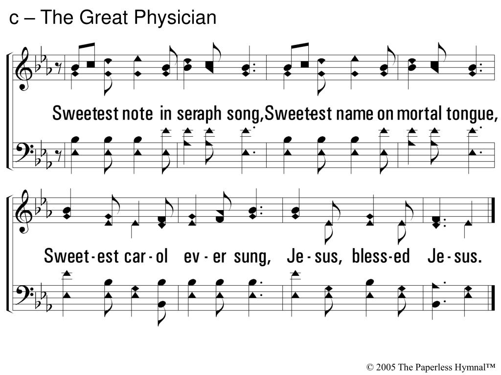 c – The Great Physician