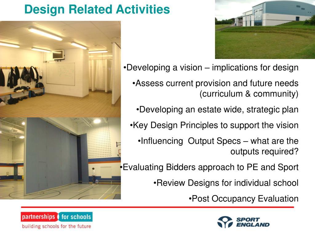 Design Related Activities