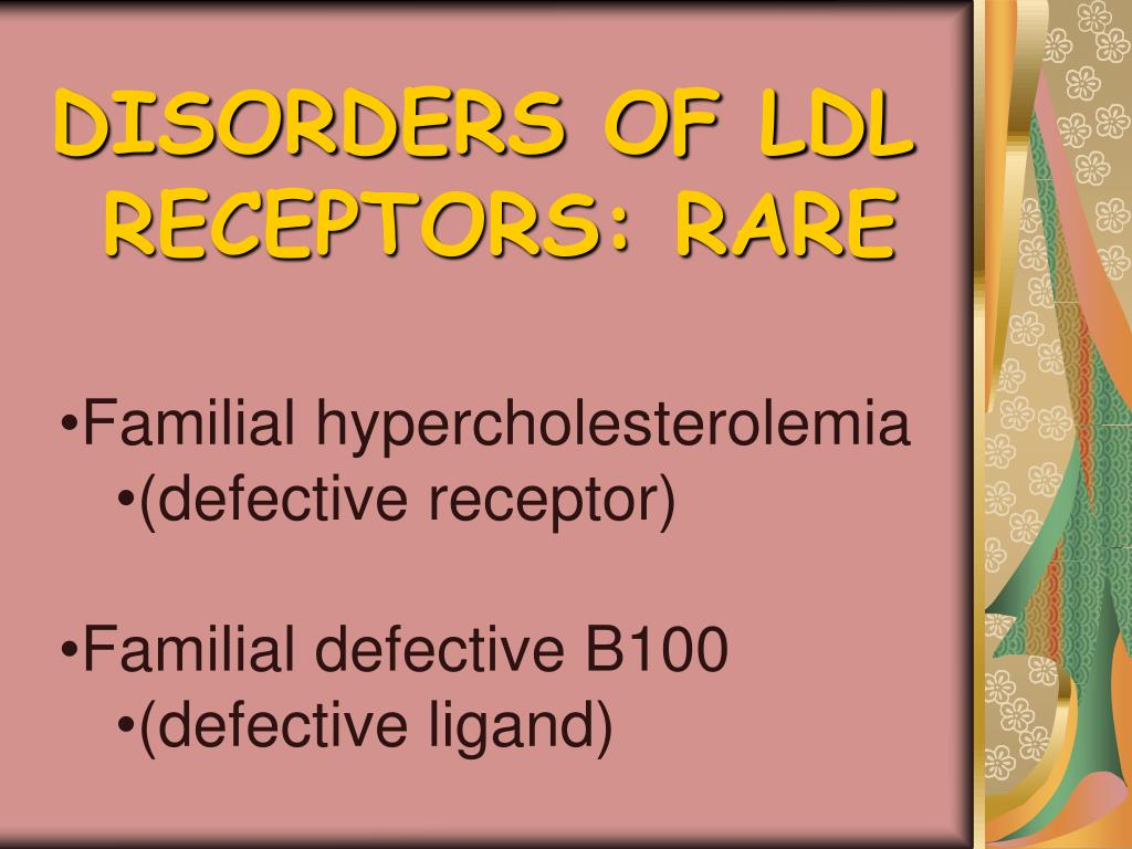 DISORDERS OF LDL