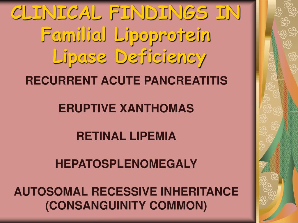 CLINICAL FINDINGS IN