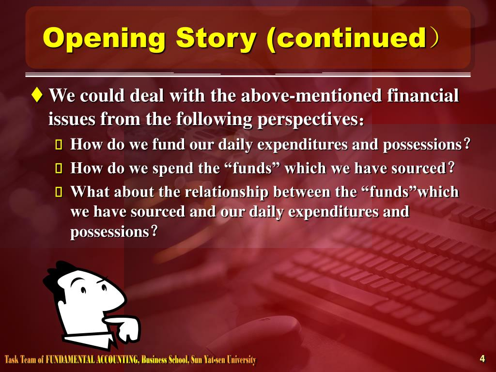 Opening Story (continued