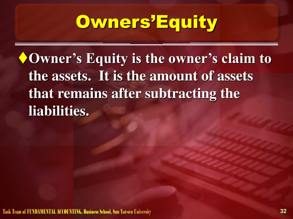 Owners'Equity
