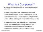 what is a component