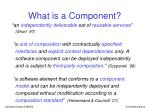 what is a component7