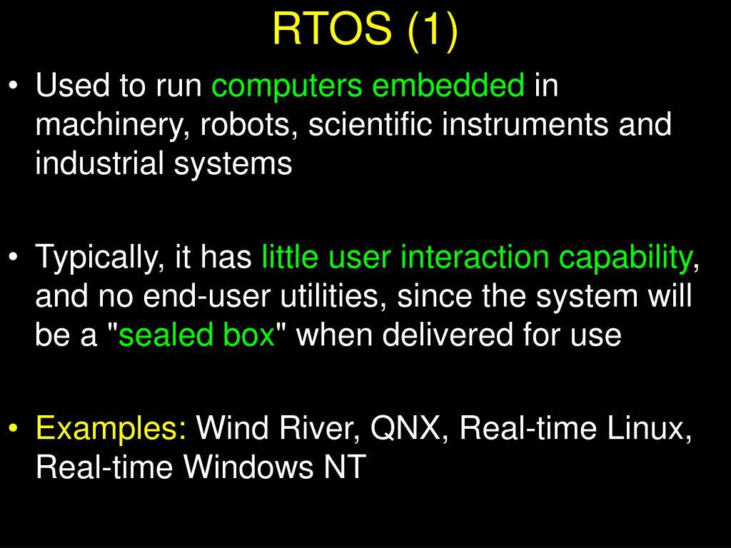 RTOS (1)