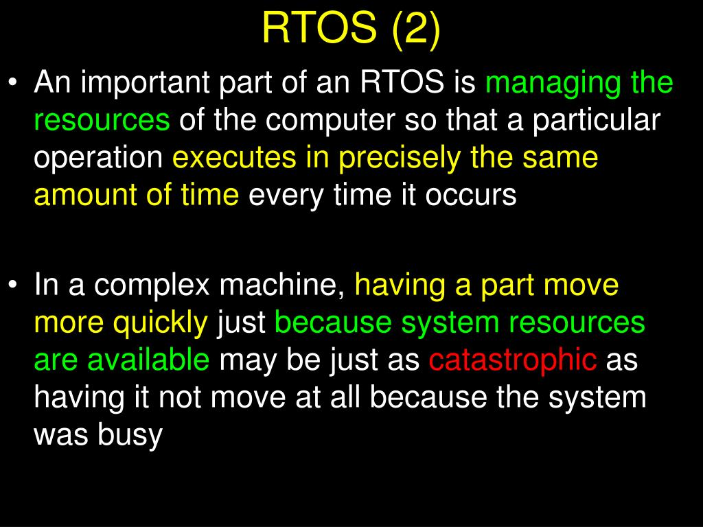 RTOS (2)